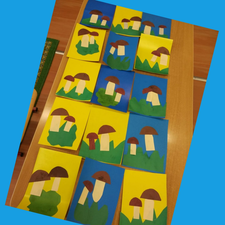 """Художественно-эстетическое развитие (Лепка) группа дошкольного возраста (дети от 2-4лет) """"Грибная полянка»"""